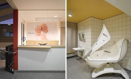 养老院敬老院装修设计方案 敬老院养老院装修效果图