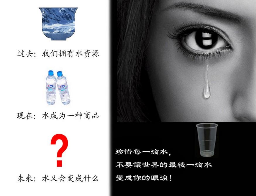 节约用水的公益广告 节约用水的广告语图片