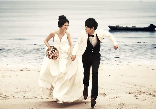 海景婚纱照美化攻略 拍海景婚纱照注意事项