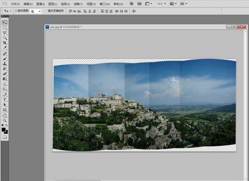 拼接照片时色差校正技巧 数码照片处理技巧