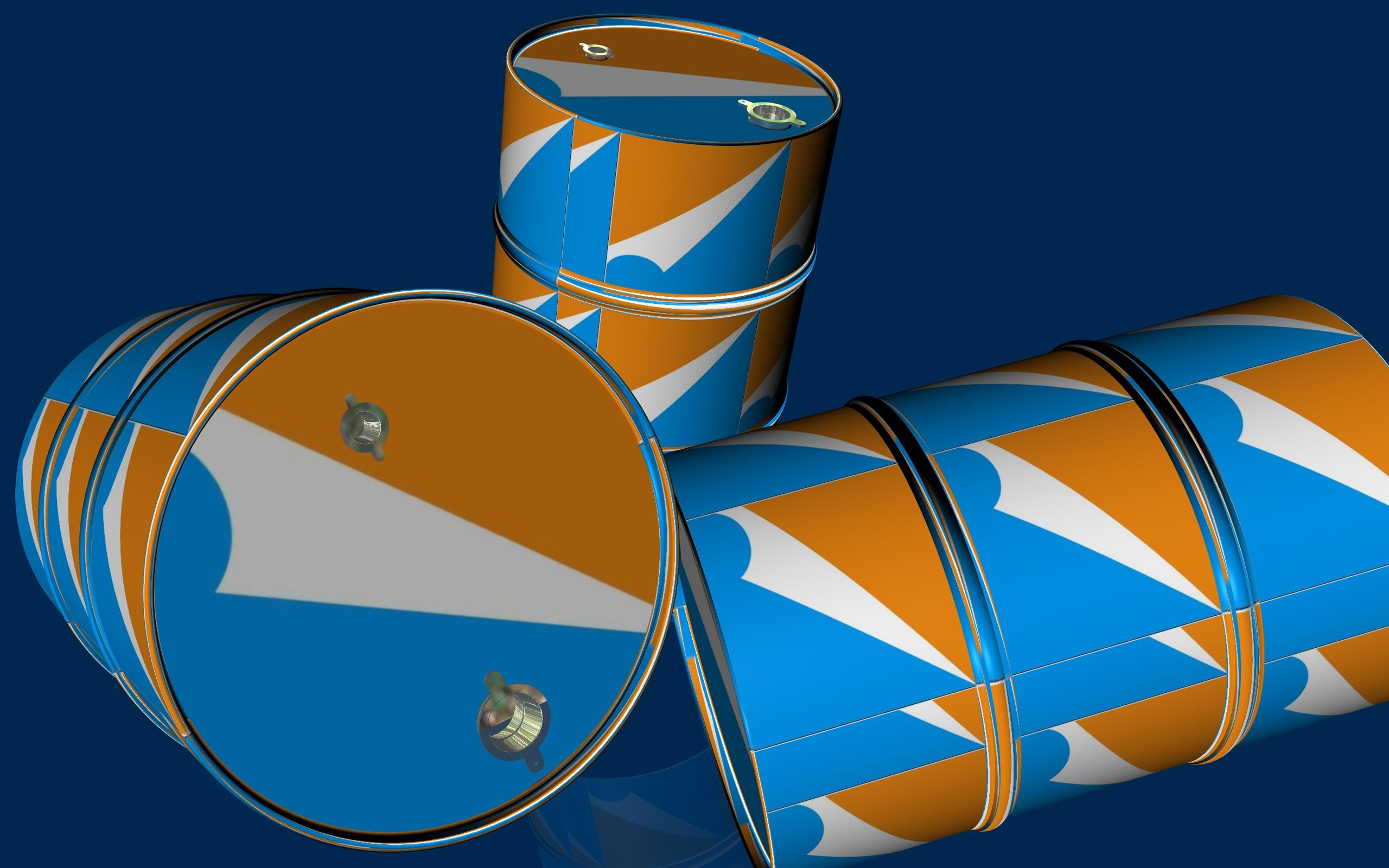 200l油桶包装设计