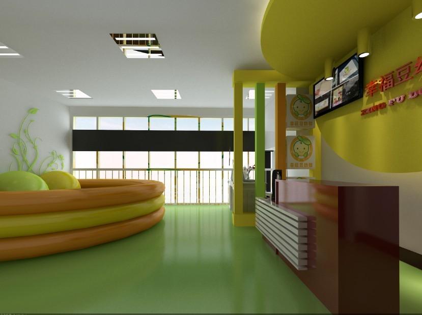 征集婴幼学苑接待区和走廊装修图
