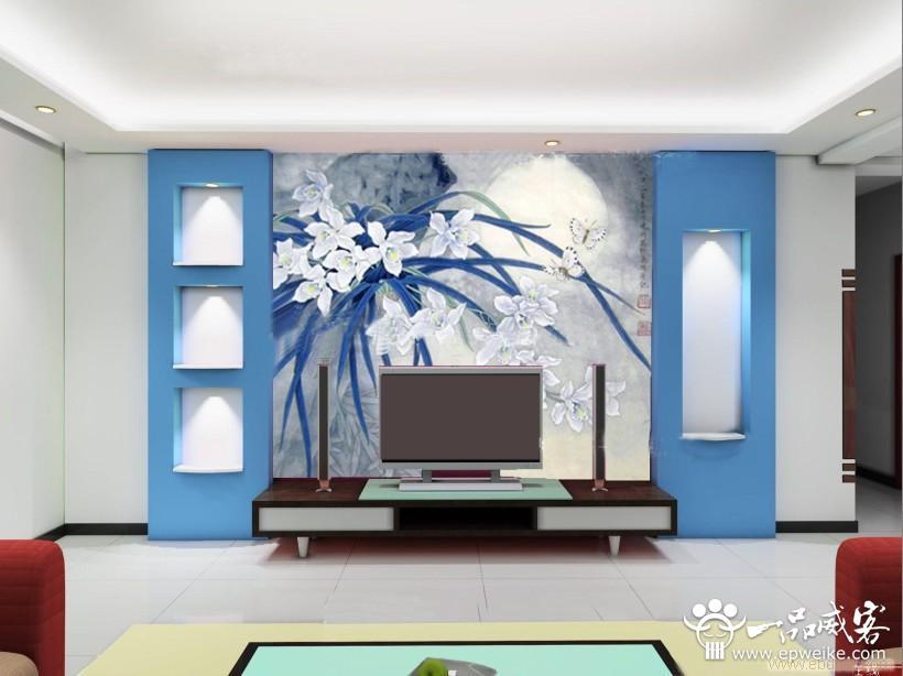 房子装修个性手绘墙设计 个性手绘墙设计时尚