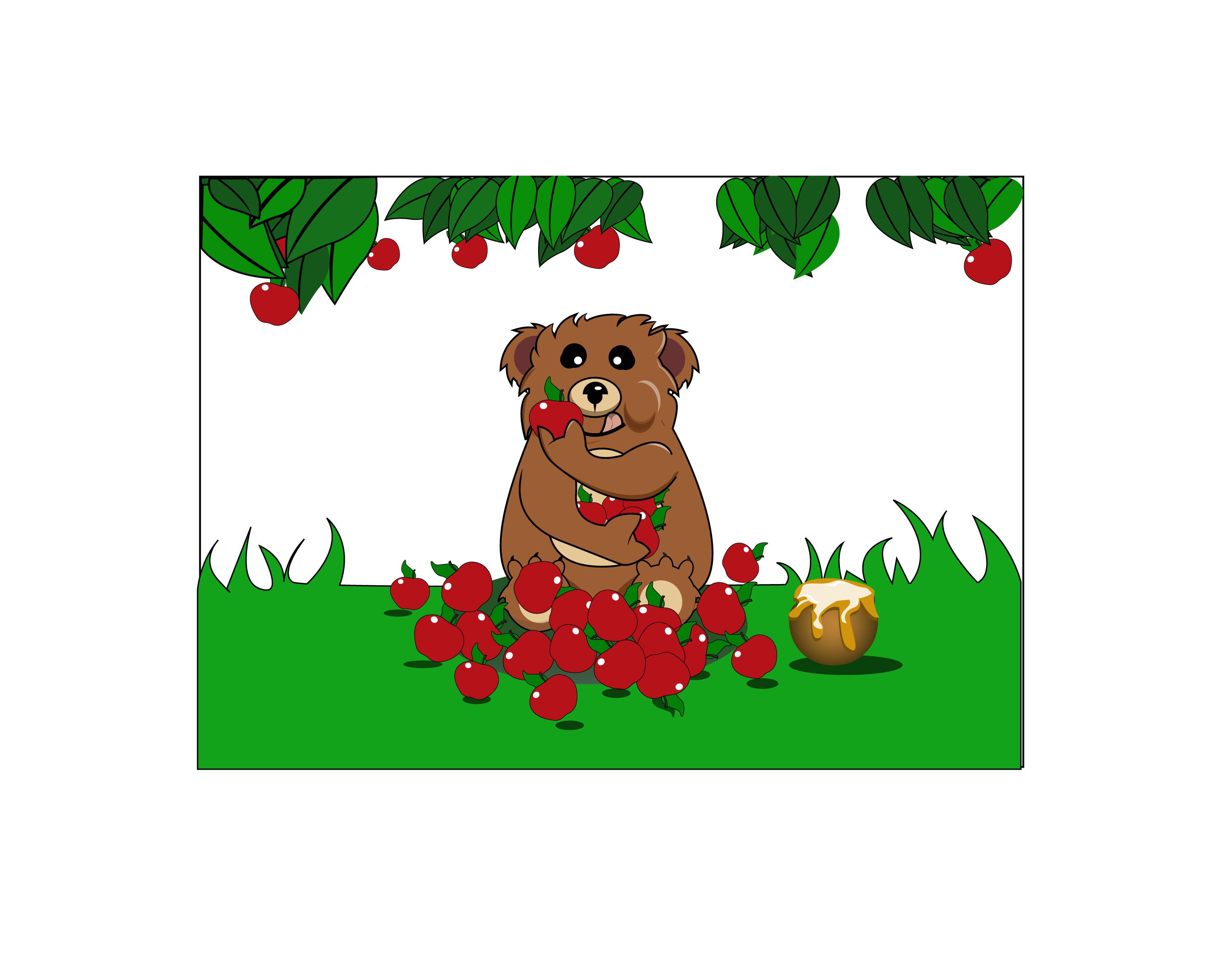 红苹果包装箱版面设计