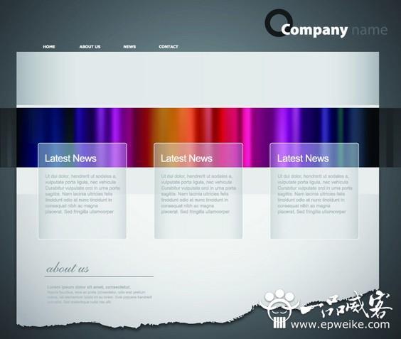网页美工色彩设计有哪些内容 网页美工色彩设计要素构成