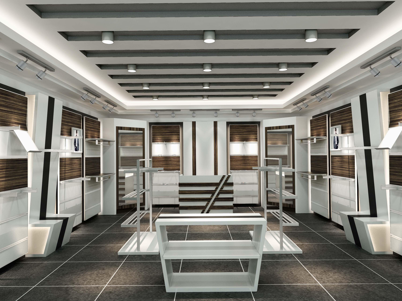 男装_和风商业空间设计案例展示_一品威客网
