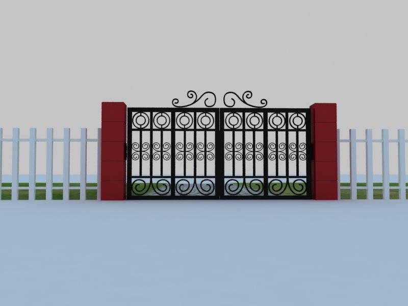 農業生態園的大門設計