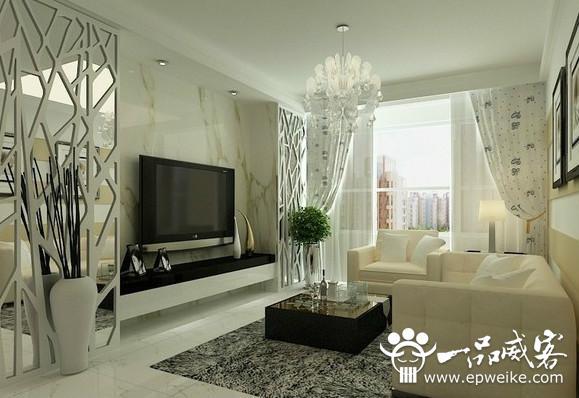现代简约电视背景墙设计风格