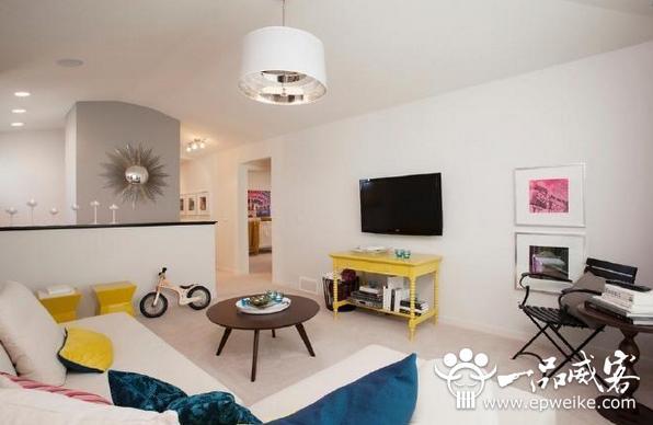 小户型客厅电视墙设计