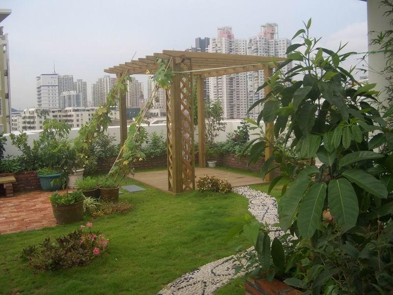 苏州古建,中式庭院设计与现代田园风格花园营造方式