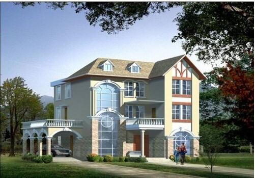 120平米自建房设计