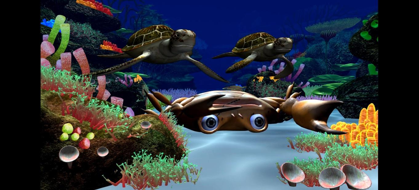 深海探秘3d动画制作