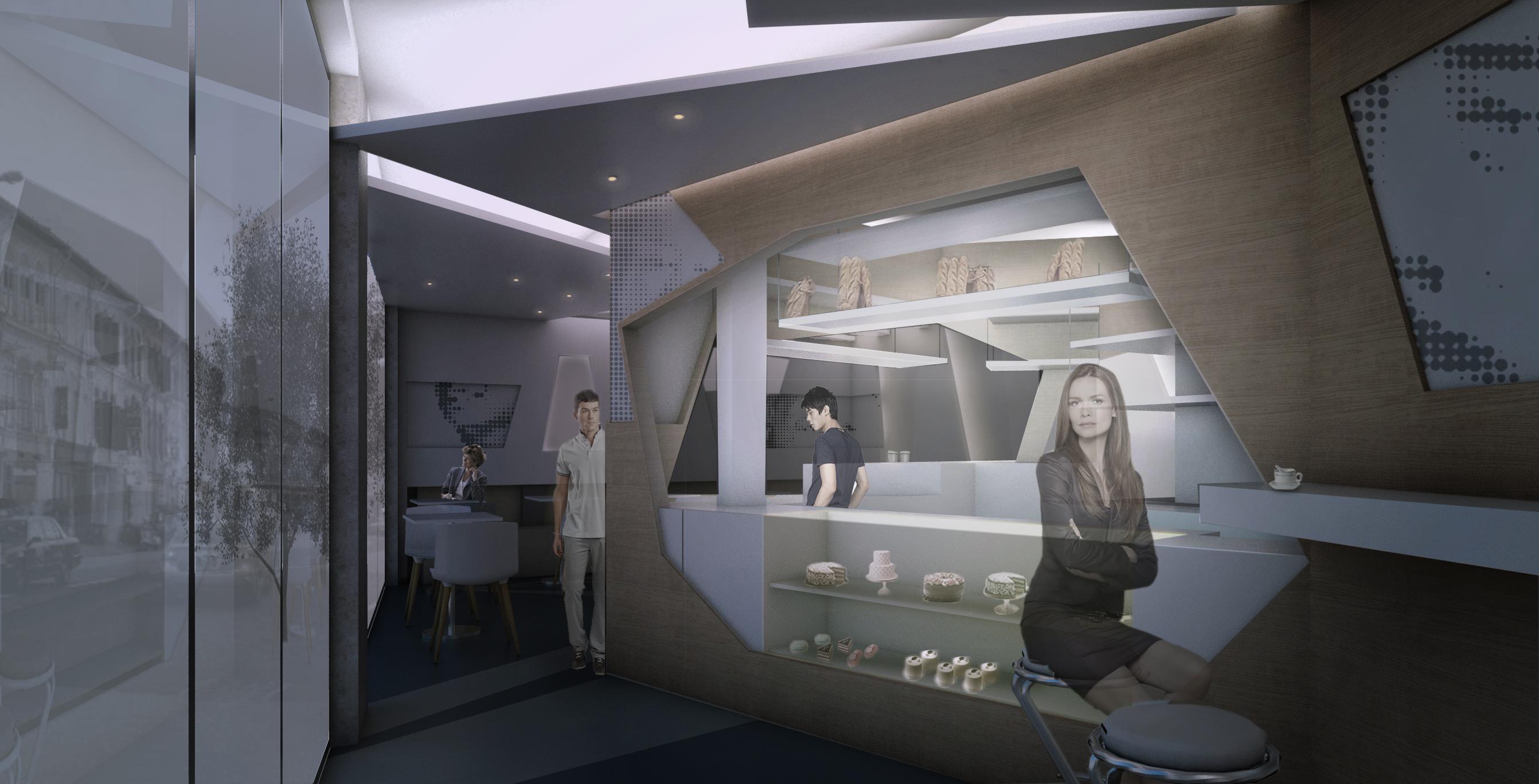 咖啡馆室内设计_科普建筑设计工作室案例展示_一品