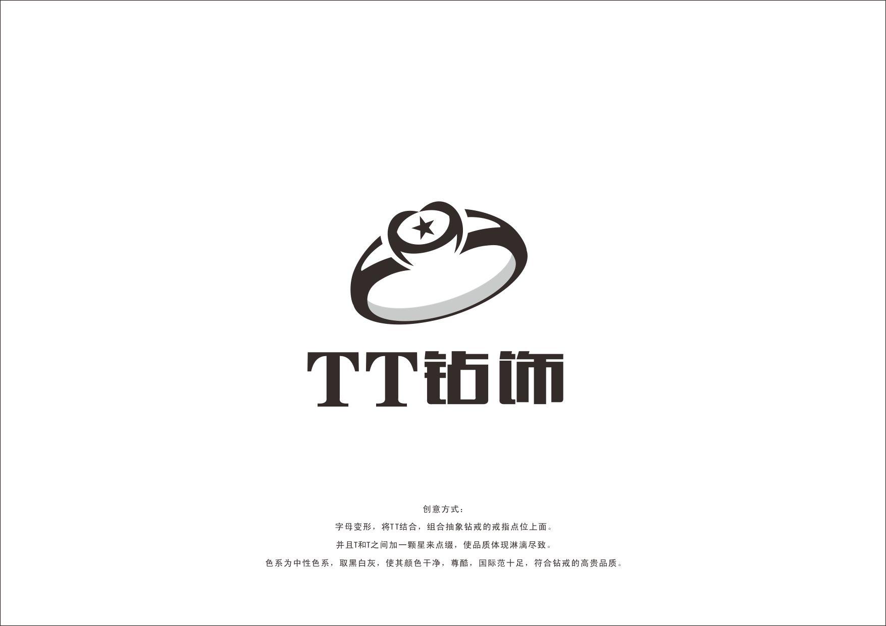 珠宝钻饰公司logo及名片设计