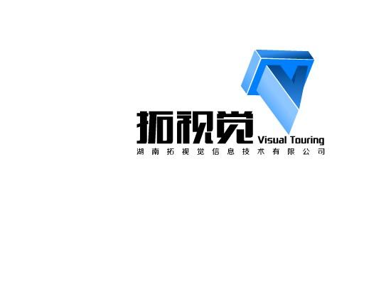"""""""拓视觉""""科技公司logo设计"""