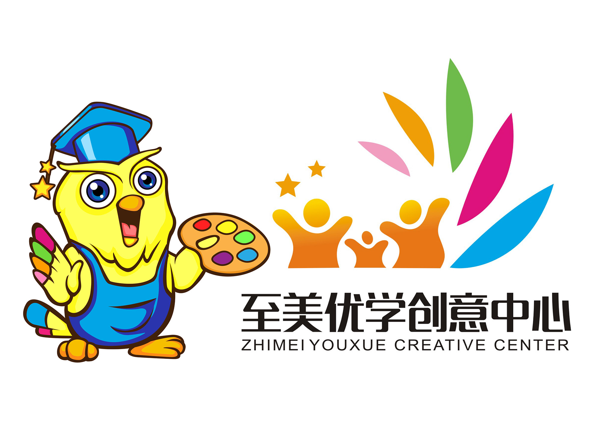 根据公司logo设计一个吉祥物