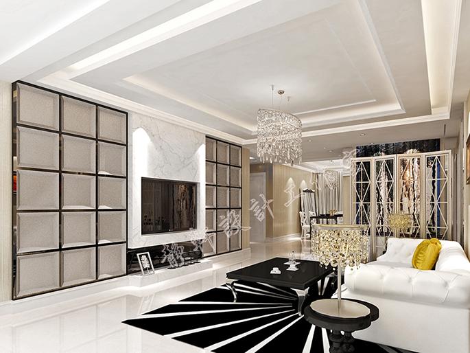 家装空间_静轩设计案例展示_一品威客网