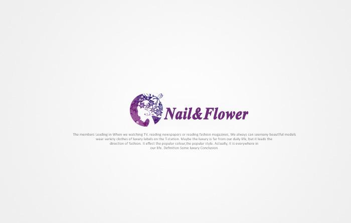 日系美甲店logo,店名,广告语设计征求