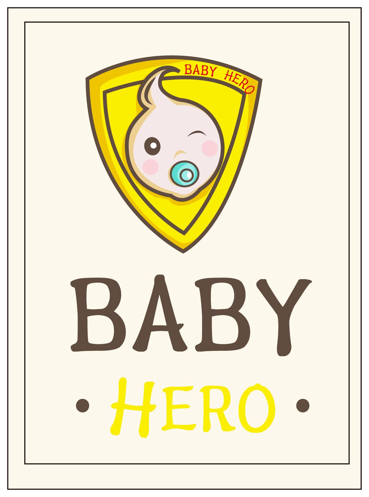 勾勒一个吸着奶嘴的宝宝,微笑的脸,俏皮的头发,让孩子看上去健康可爱
