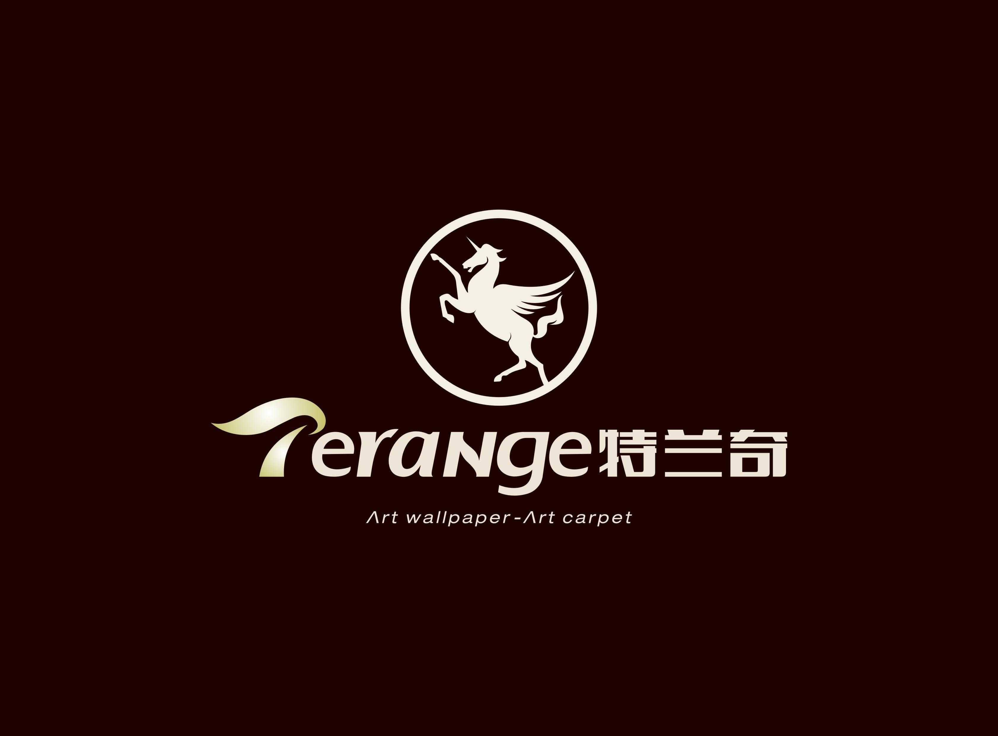 特兰奇艺术墙纸-地毯logo设计_印轩品牌设计有限公司