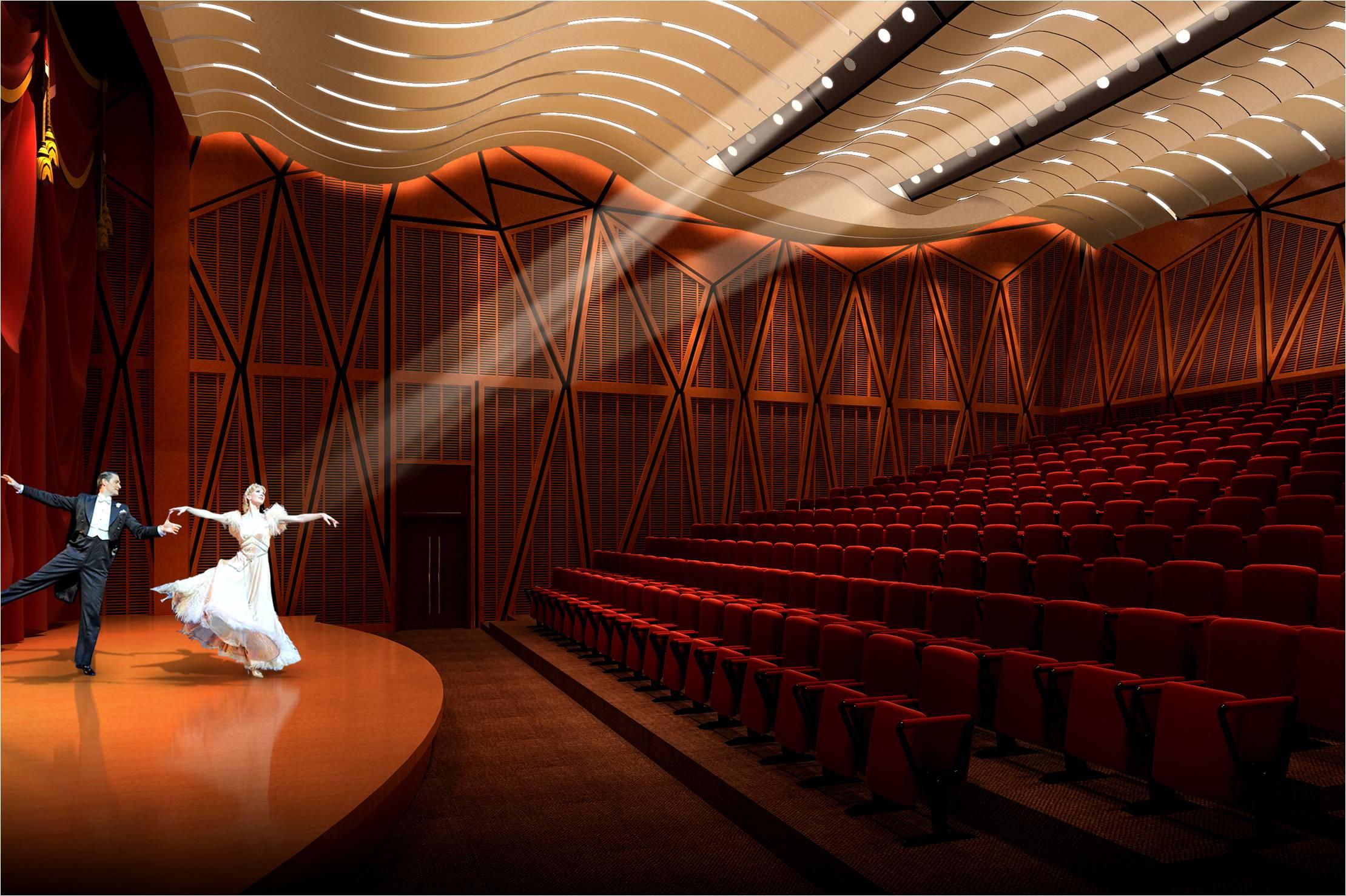 西南文化艺术中心 室内设计