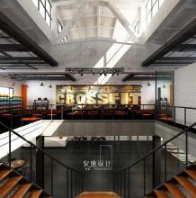 威客服务:[62022] 安盛设计事务所--工业风体能训练工作室