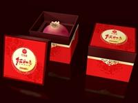 红如意石榴包装盒设计