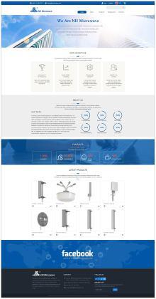 企业定制网站 | Nanhai Microwave