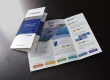 天津优景科技宣传三折页设计