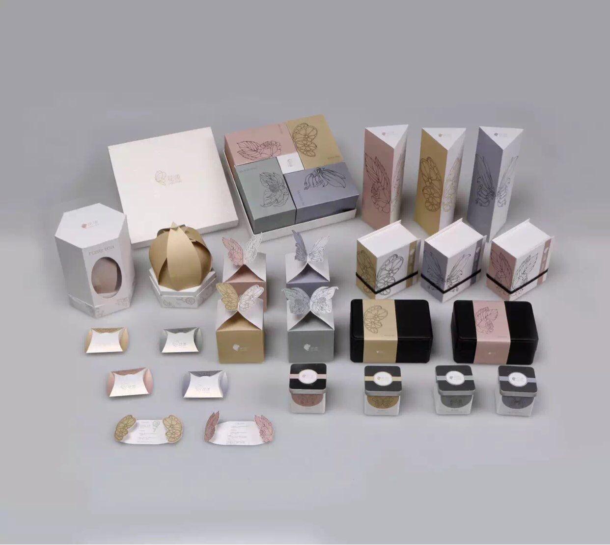花语 花茶包装设计图片