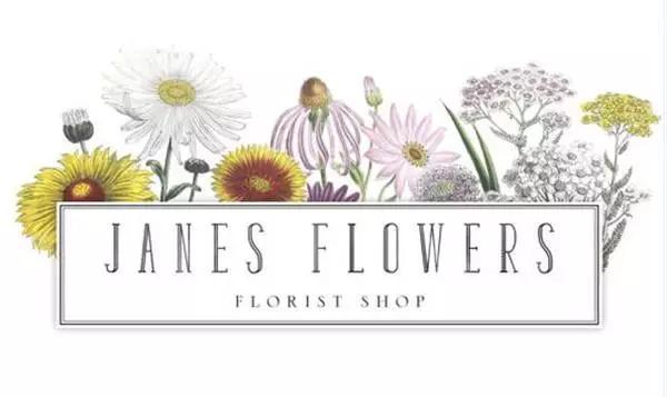 精美花店logo设计案例,真的美到令人惊艳