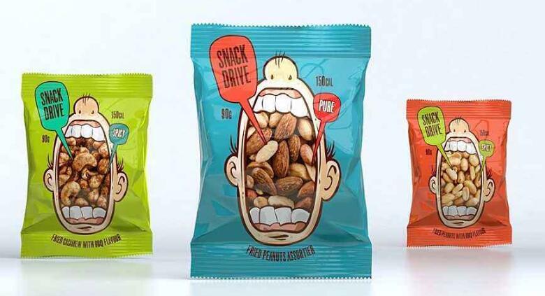 坚果包装设计得这么好,销量一定不会输三只松鼠