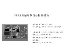GPRS基站定位设备报修模块