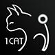 一只猫创意