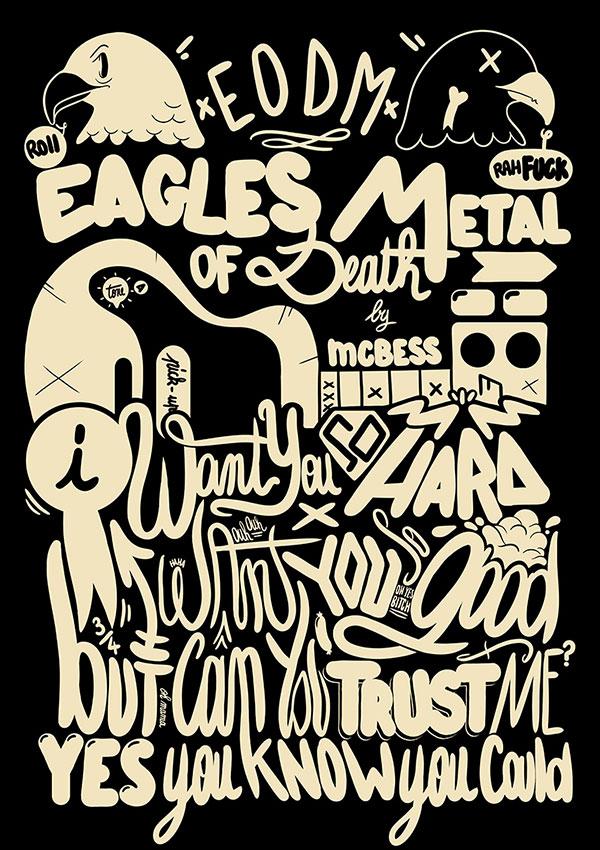 国外创意手绘个性字体设计欣赏
