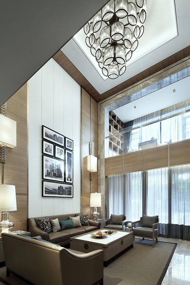现代风格别墅样板房设计图片
