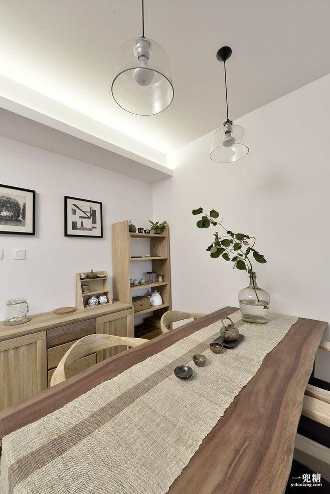 原木风格新中式家装设计欣赏