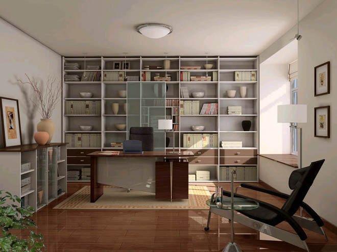 告诉你有关书房装修应该知道的注意事项