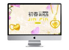 金品珠宝-深圳蚂蚁网络网站建设案例