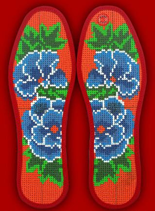 51种十字绣鞋垫图案设计欣赏
