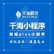 威客服务:[115174] 【千海视觉】微信小程序 | 商城plus小程序