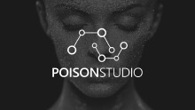 【Poison Studio】摄影工作室 logo设计 VI设计 品牌设计