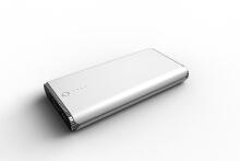 金属白色充电宝