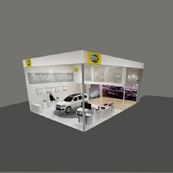 汽车展厅效果图设计
