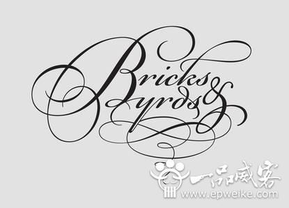 你见过这么有逼格的英文字体设计吗?60款高大上的英文字体设计欣赏
