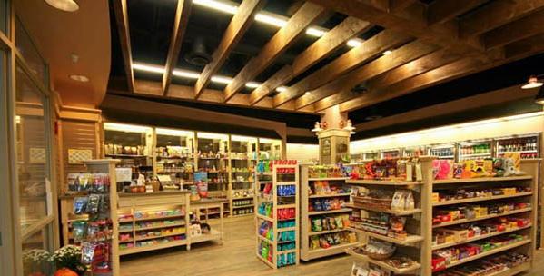 便利店怎么装修设计?10款实用大方的便利店装修设计图