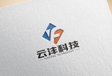 云沣科技logo/vi案例