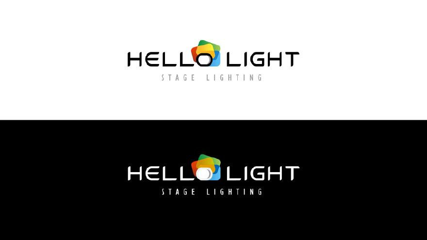 某舞台灯光设计有限公司logo设计