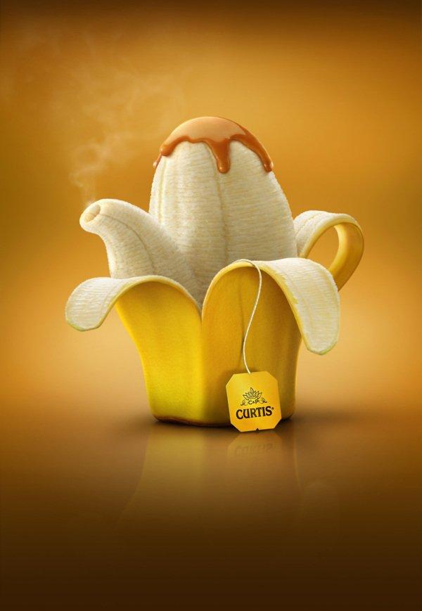 美味水果水壶广告创意