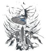 耐克T恤图案创意画赏析 NIKE创意T恤图案设计